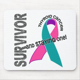 Thyroid Cancer Survivor Mouse Mats