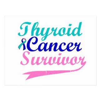 Thyroid Cancer Survivor Postcard