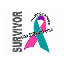 Thyroid Cancer Survivor Postcard