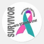 Thyroid Cancer Survivor Stickers