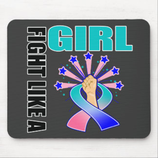 Thyroid Cancer Victory Fight Like A Girl Mouse Pads