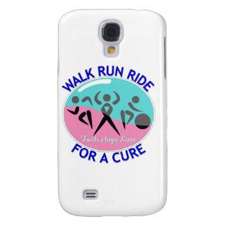 Thyroid Cancer Walk Run Ride For A Cure Samsung Galaxy S4 Cover