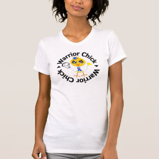 Thyroid Cancer Warrior Chick T Shirts