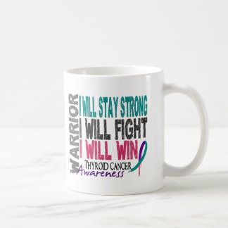 Thyroid Cancer Warrior Coffee Mug