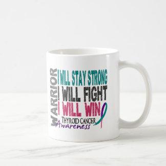 Thyroid Cancer Warrior Coffee Mug
