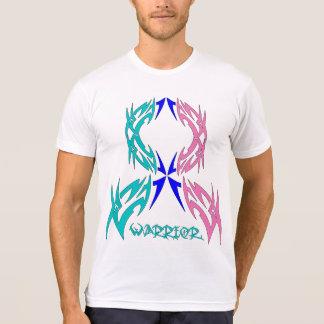 Thyroid Cancer Warrior Tribal Ribbon T Shirt