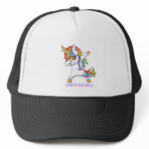 Thyroid Cancer Warrior Unbreakable Trucker Hat