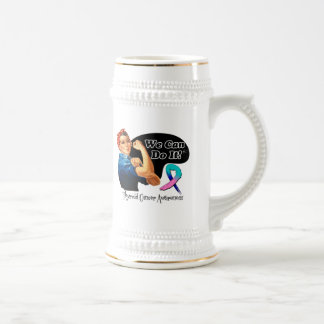 Thyroid Cancer We Can Do It Rosie The Riveter Coffee Mugs