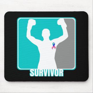 Thyroid Cancer Winning Survivor Mouse Pad