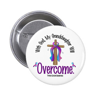 Thyroid Cancer With God My Granddaughter Will Over Buttons