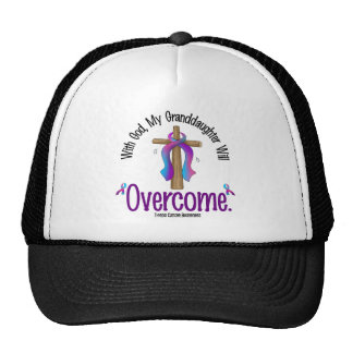 Thyroid Cancer With God My Granddaughter Will Over Trucker Hat