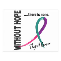 Thyroid Cancer Without Hope 1 Postcard