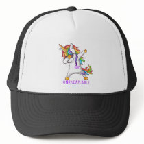 THYROID CANCERTHYROID CANCER Warrior Unbreakable Trucker Hat