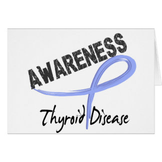 Thyroid Disease Awareness 3 Card