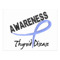 Thyroid Disease Awareness 3 Postcard