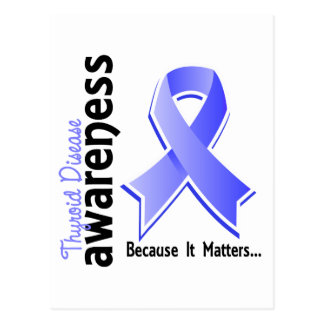 Thyroid Disease Awareness 5 Postcard