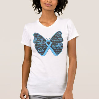 Thyroid Disease Awareness Butterfly Ribbon Tshirts