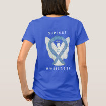 Thyroid Disease Awareness Paisley Art Angel Shirts