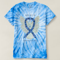 Thyroid Disease Awareness Paisley Ribbon Art Shirt