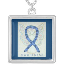 Thyroid Disease Awareness Paisley Ribbon Jewelry