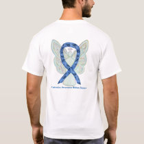 Thyroid Disease Awareness Paisley Ribbon Shirts
