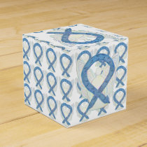 Thyroid Disease Awareness Ribbon Angel Party Boxes
