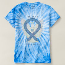 Thyroid Disease Awareness Ribbon Art T-Shirts