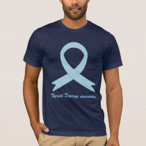 Thyroid Disease awareness ribbon T-Shirt