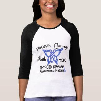 Thyroid Disease Celtic Butterfly 3 T-Shirt