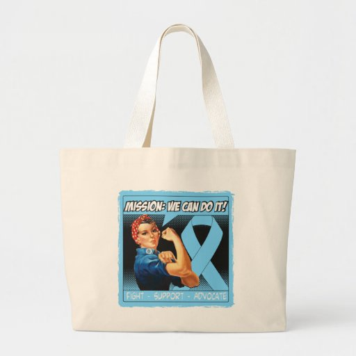 Thyroid Disease Mission We Can Do It Tote Bags