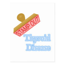 Thyroid Disease Postcard