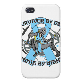 Thyroid Disease Survivor By Day Ninja By Night iPhone 4 Cover