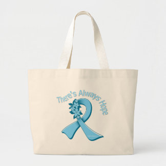 Thyroid Disease There's Always Hope Floral Canvas Bag