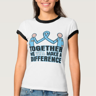 Thyroid Disease Together We Will Make A Difference T-shirt