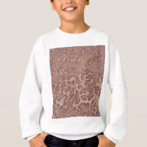 Thyroid gland cells with cancer sweatshirt