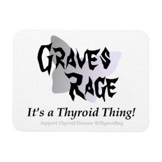 Thyroid Graves Rage Magnet