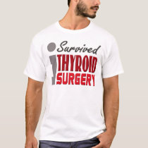 Thyroid Surgery Survivor Shirt