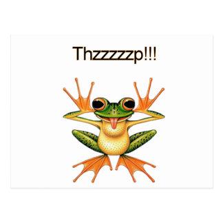 Thzzzp! Postcard