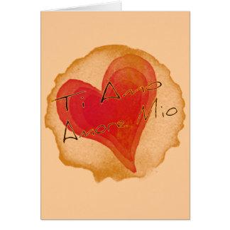Ti Amo Amore Mio Card