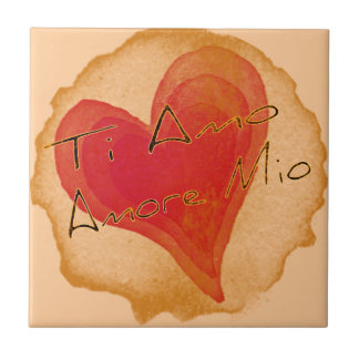 Ti Amo Amore Mio Ceramic Tile