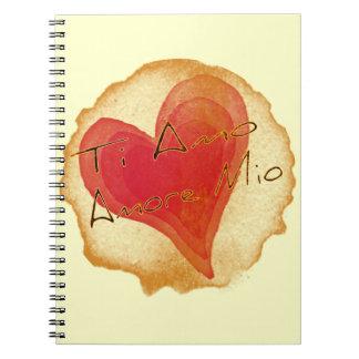 Ti Amo Amore Mio Libro De Apuntes Con Espiral