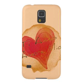 Ti Amo Amore Mio Funda De Galaxy S5