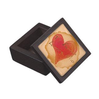 Ti Amo Amore Mio Premium Trinket Boxes