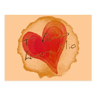 Ti Amo Amore Mio Postal