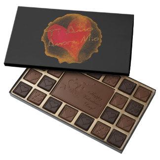 Ti Amo, Amore Mio Valentine's Chocolates 45 Piece Box Of Chocolates