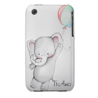 Ti Amo Baby Elephant Case-Mate iPhone 3 Case