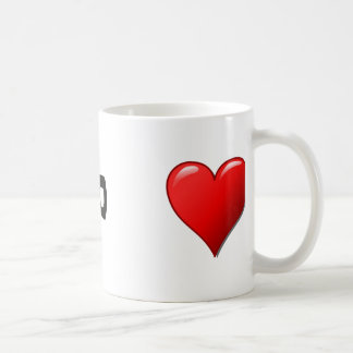 Ti amo - I love you in Italian Coffee Mug
