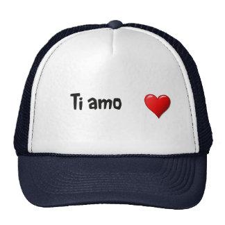 Ti amo - I love you in Italian Trucker Hat