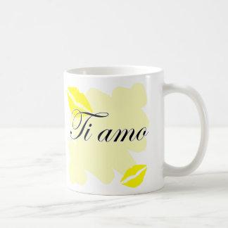 Ti amo - Italian I love you Coffee Mugs