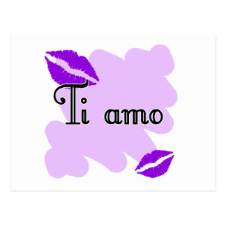 Ti amo - Italian I love you Postcard